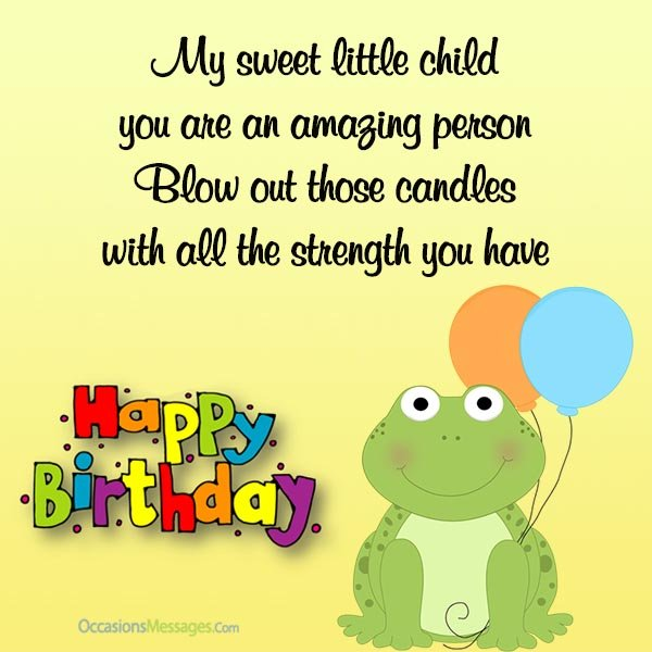 happy birthday message for child ; Birthday-cards-for-kids
