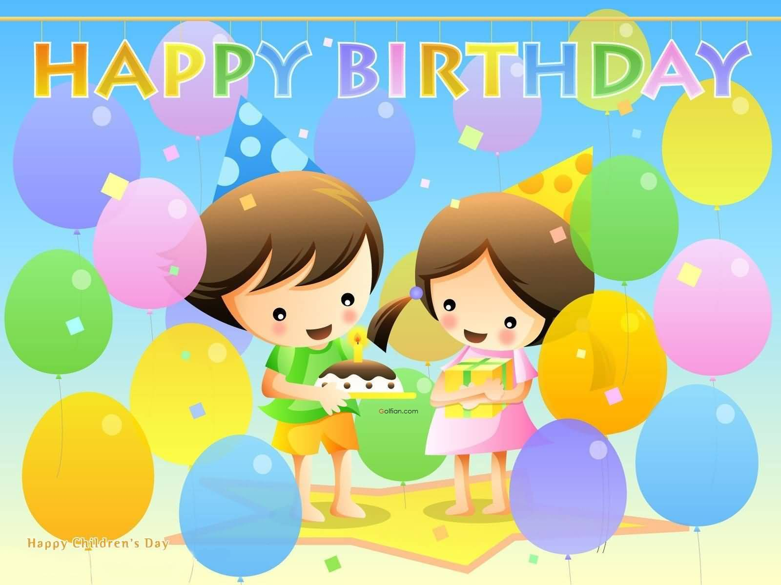 happy birthday message for child ; Happy-Birthday-Wishes-For-Kids-Greetings