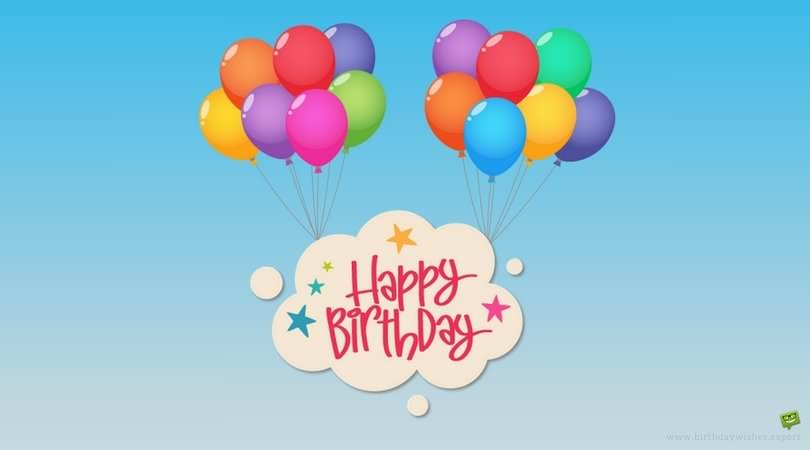 happy birthday message for child ; Happy-Birthday-for-kids-on-illustration-of-colorful-balloons-lifting-a-cloud