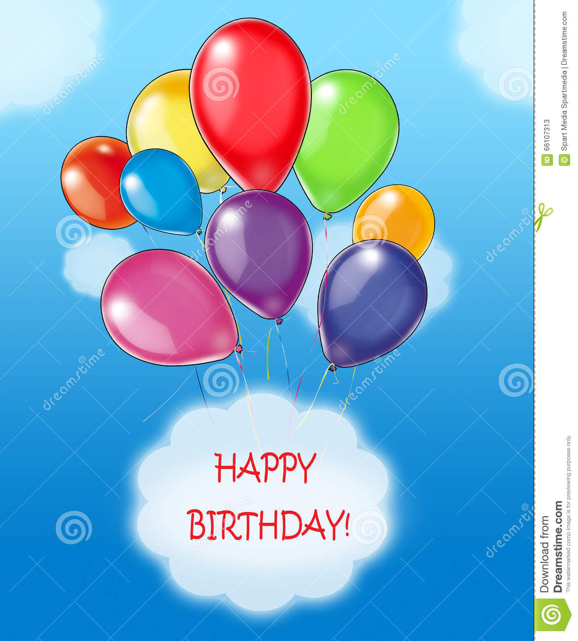 happy birthday message for child ; happy-birthday-wishes-greeting-card-colorful-balloons-blue-sky-message-white-cloud-children-s-festive-66107313