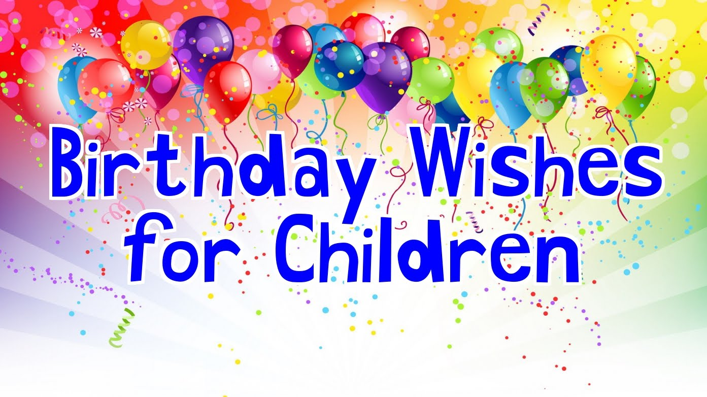 happy birthday message for child ; maxresdefault