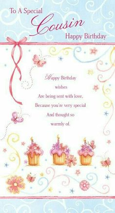 happy birthday message for cousin female ; 466090a6f2b94910d33e76267e8b4b23--birthday-messages-birthday-greetings