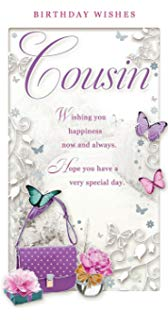 happy birthday message for cousin female ; 71ylaI3w3JL
