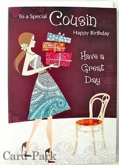 happy birthday message for cousin female ; To-A-Special-Cousin-Happy-Birthday-Have-Great-Day