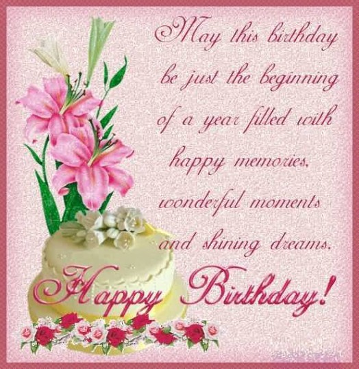 happy birthday message in card ; Briliant-Birthday-Cards-For-Friends