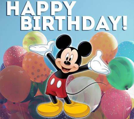 happy birthday mickey mouse ; Lookin-Good-for-85-Years-Old