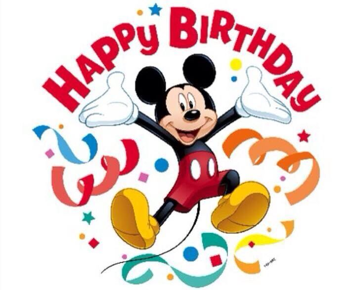 happy birthday mickey mouse ; c179a40260901c906bea37dcbc4dce51