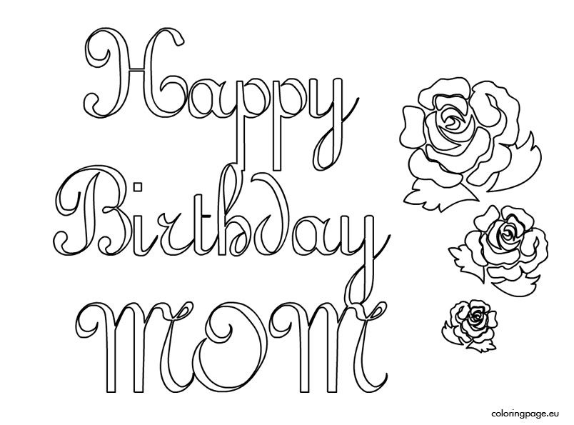 happy birthday mom cards to color ; 2acee707ae49b20feb453d70b54f19aa