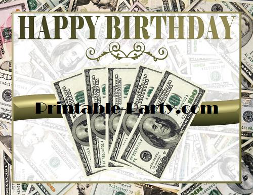 happy birthday money ; MONEY-THEME-PRINTABLE-PARTY-SUPPLIES-19