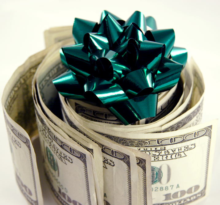 happy birthday money ; istock_000000822689small