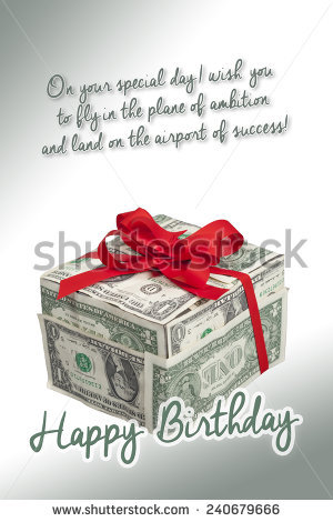 happy birthday money ; stock-photo-money-gift-box-with-red-ribbon-and-bow-one-dollar-bills-with-happy-birthday-label-and-birthday-240679666