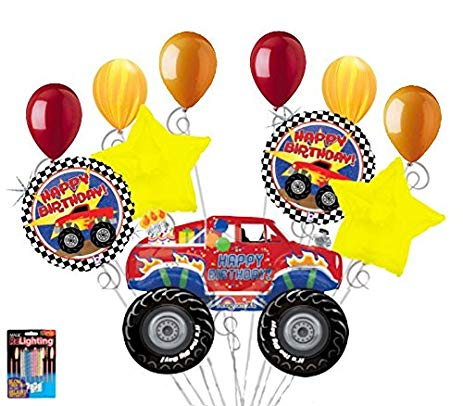 happy birthday monster truck ; 51UbiZBX28L