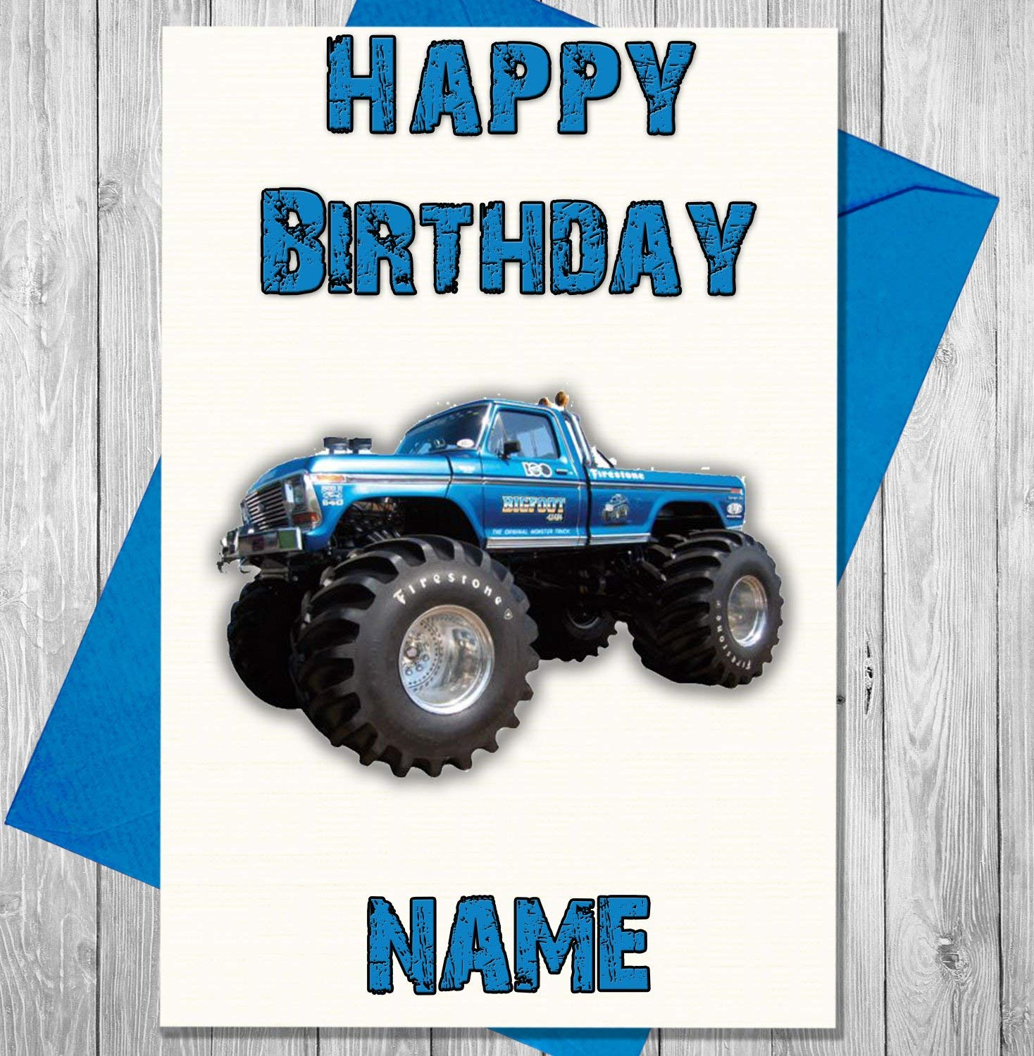 happy birthday monster truck ; 81JqpciI1iL