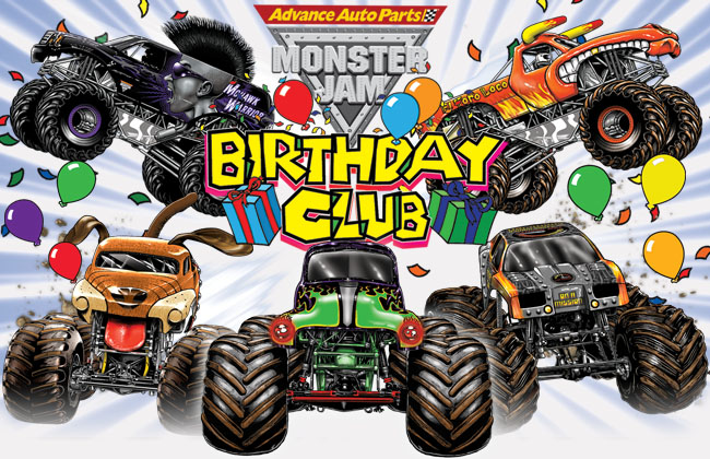 happy birthday monster truck ; Monster+Truck+Birthday+Party+Ideas