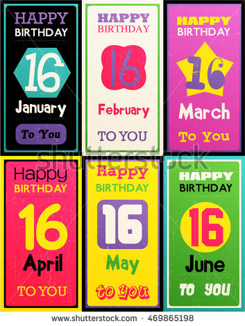 happy birthday month card ; stock-vector-greeting-happy-birthday-card-date-sixteen-of-birth-by-month-january-february-march-april-may-469865198