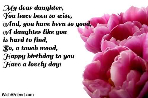 happy birthday nice words ; Kind-Words-Birthday-Wishes-For-Daughter