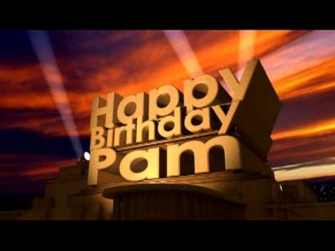 happy birthday pam images ; hqdefault