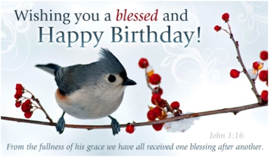 happy birthday personalized image free ; 16092-blessed-birthday-winter