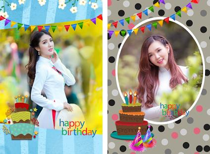 happy birthday photo card maker ; com