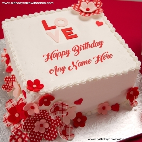 happy birthday photo editing online ; romantic-love-couple-birthday-wishes-cake