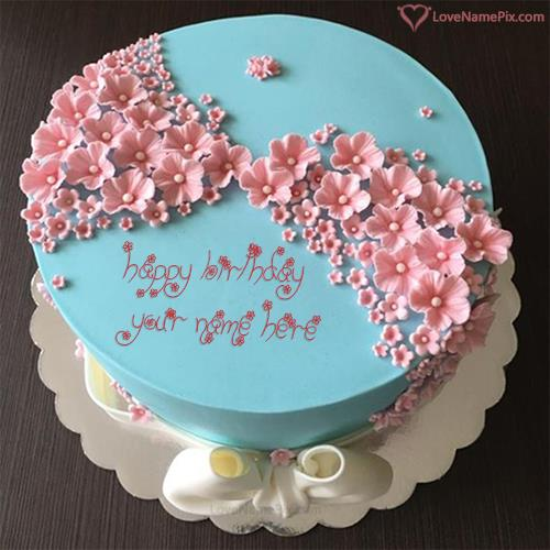 happy birthday photo editing online ; stylish-birthday-cake-editing-online-love-name-pix-6f71