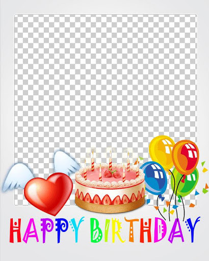 happy birthday photo frame collage ; 1209782