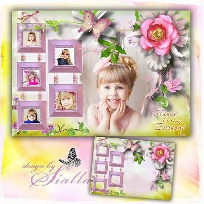 happy birthday photo frame collage ; 1468950344_kids-birthday-frame-collage-download-2