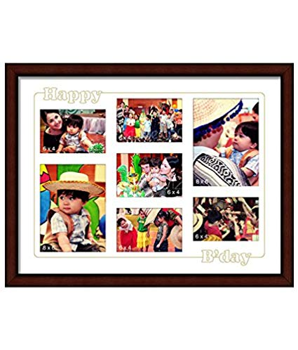 happy birthday photo frame collage ; 514pPjlqt5L