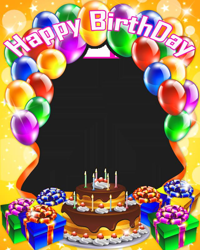 happy birthday photo frame collage ; Birthday-Collage-Frame-PNG-HD