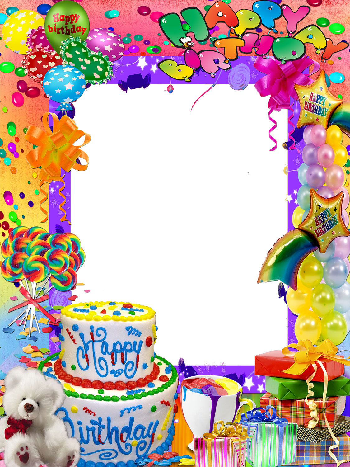 happy birthday photo frames online editing free ; 1485734088