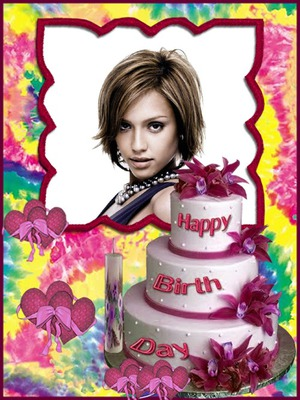 happy birthday photo frames online editing free ; 997_48a38
