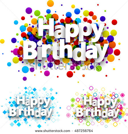 happy birthday pictures to colour in ; stock-vector-happy-birthday-colour-backgrounds-set-vector-paper-illustration-487256764