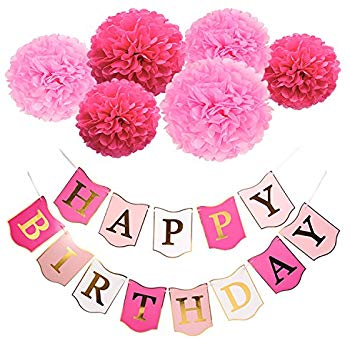 happy birthday pink images ; 51ofMpbUg1L