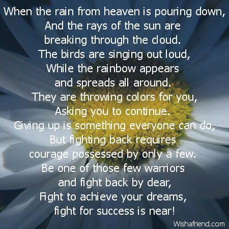 happy birthday poem for a friend in heaven ; 6539-encouragement-poems