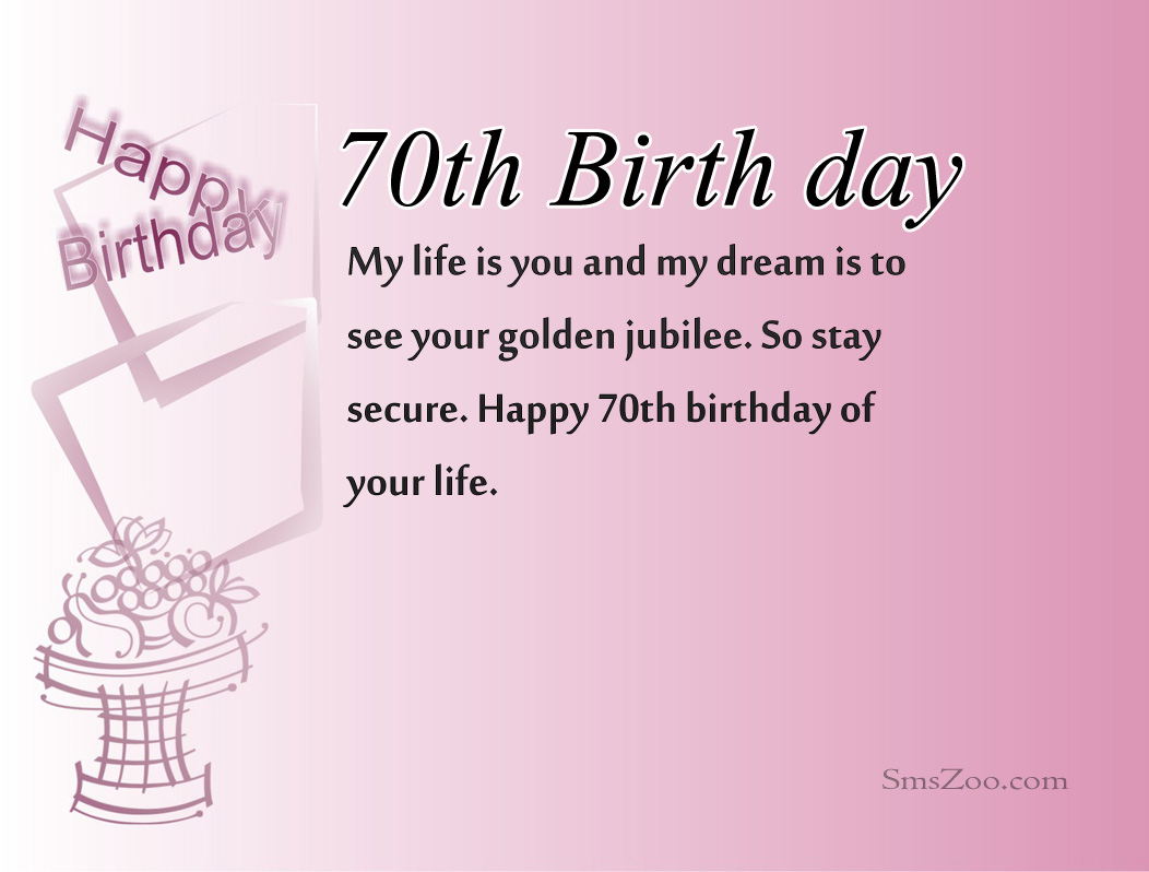 happy birthday poem for my boss ; 70th-Birthday-Wishes