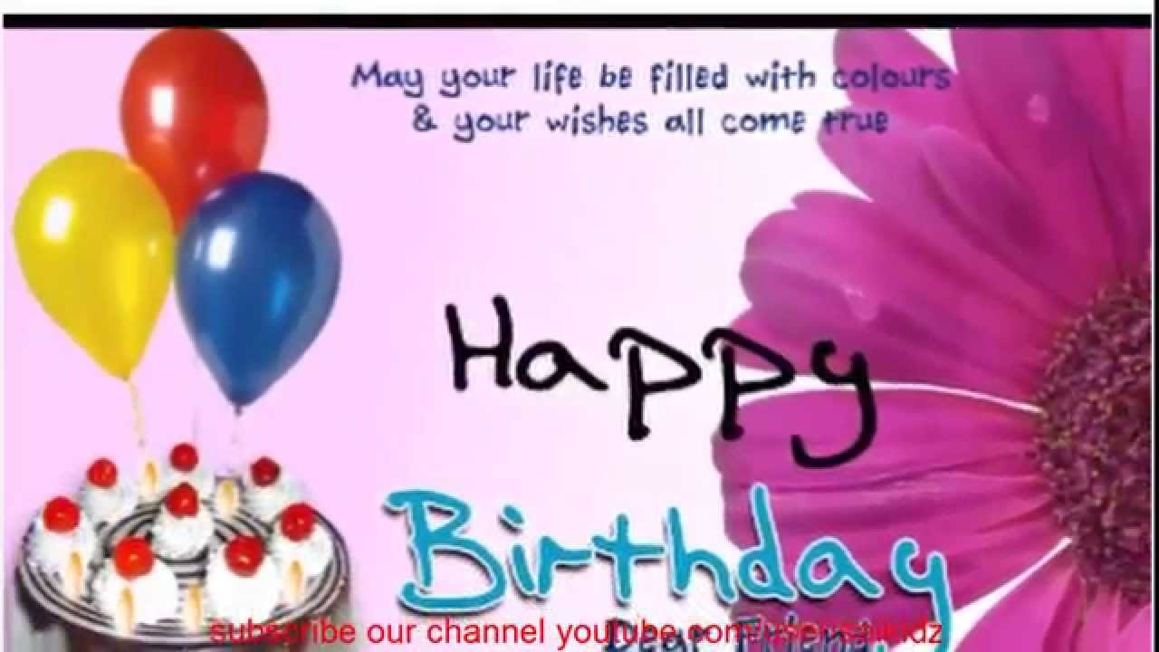 happy birthday quotes for your best friend ; maxresdefault