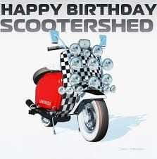 happy birthday scooter ; 45e5c150c8882ad3a89856bec338b191