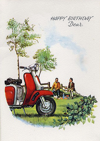 happy birthday scooter ; Happy-Birthday-Lambretta