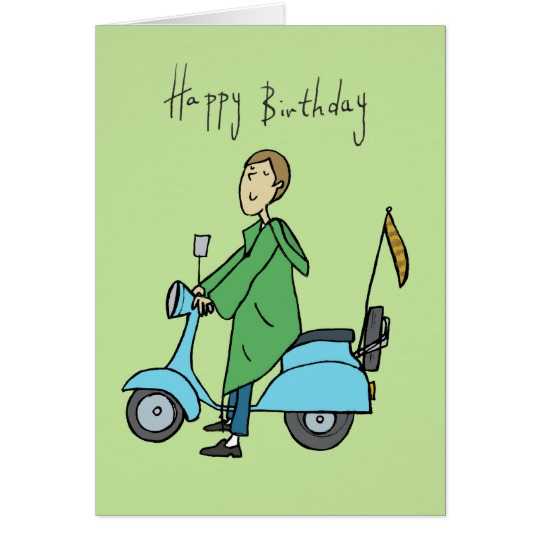 happy birthday scooter ; happy_birthday_mod_on_a_scooter_card-r1373f361e1f2440c8fffbd1d788cd7cd_xvuat_8byvr_540