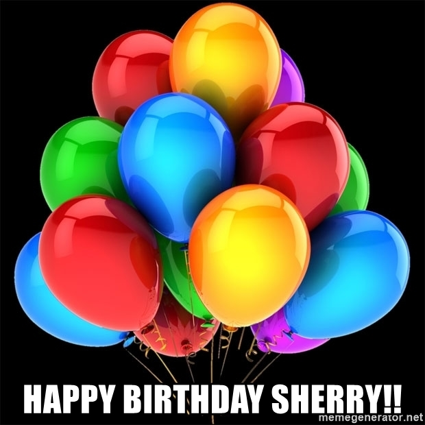happy birthday sherry images ; 56539489
