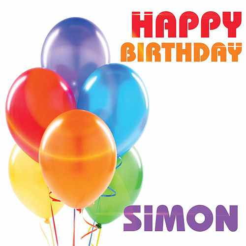 happy birthday simon ; 500x500