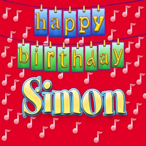 happy birthday simon ; 51wBpyHpw0L