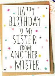 happy birthday sister from another mister ; sister-pretty-dress-handmade-happy-birthday-card-cards-love-kates-sister-pretty-dress-handmade-happy-birthday-card