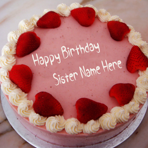 happy birthday sister photo frame online ; d656f1d94056314eaac241aeeb90474e