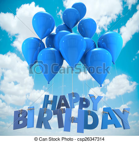 happy birthday sky ; happy-birthday-balloons-sky-clipart_csp26347314