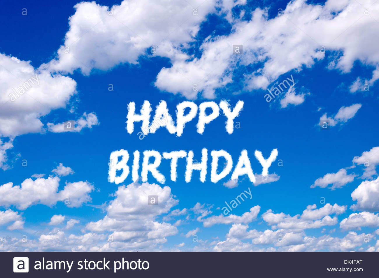 happy birthday sky ; happy-birthday-sign-clouds-on-the-clear-blue-sky-DK4FAT