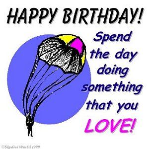 happy birthday skydiving ; 144f3744ecc0e1f0eb5f809db5f8f072