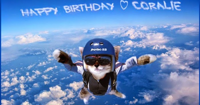 happy birthday skydiving ; Coralie_bday_Sky_Clouds_cat_08_01