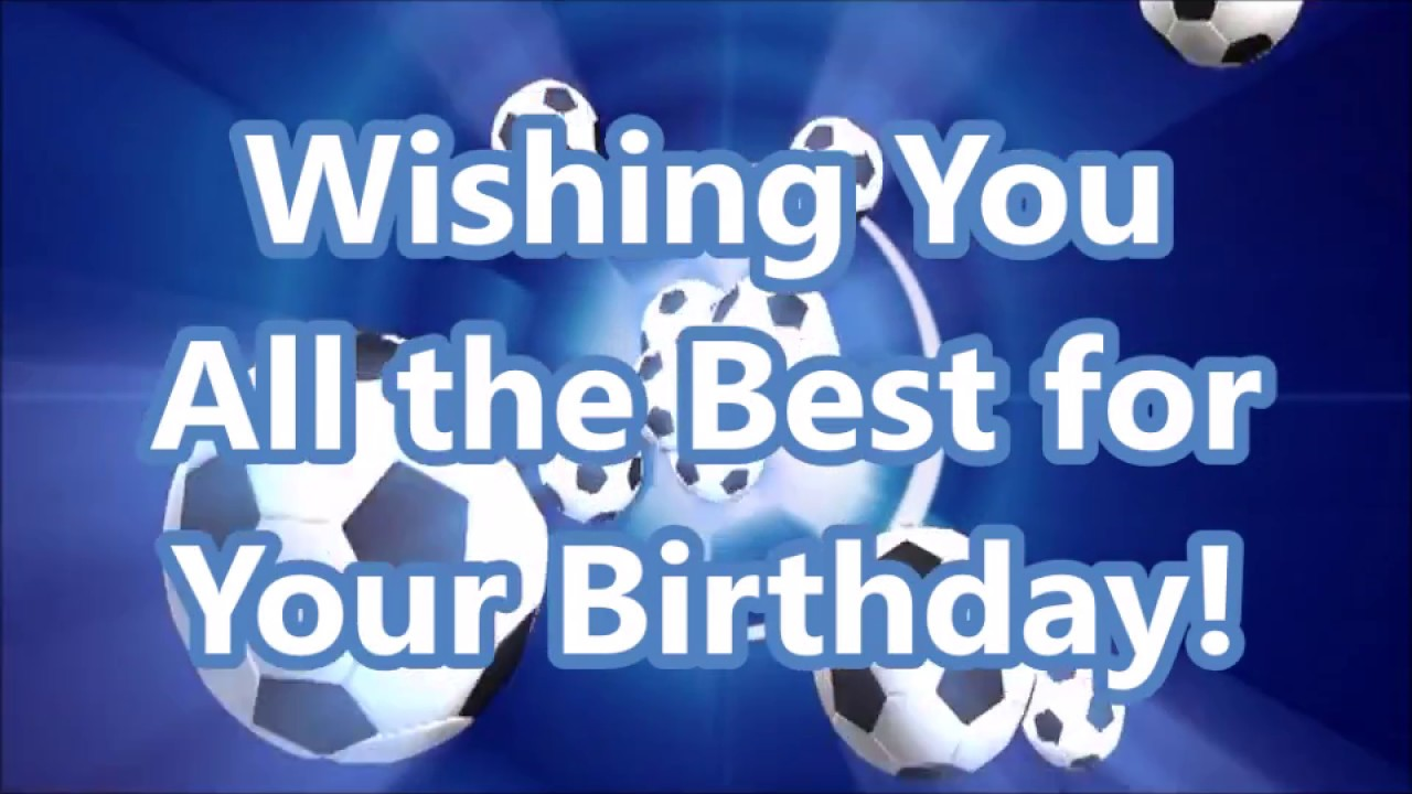 happy birthday soccer images ; maxresdefault