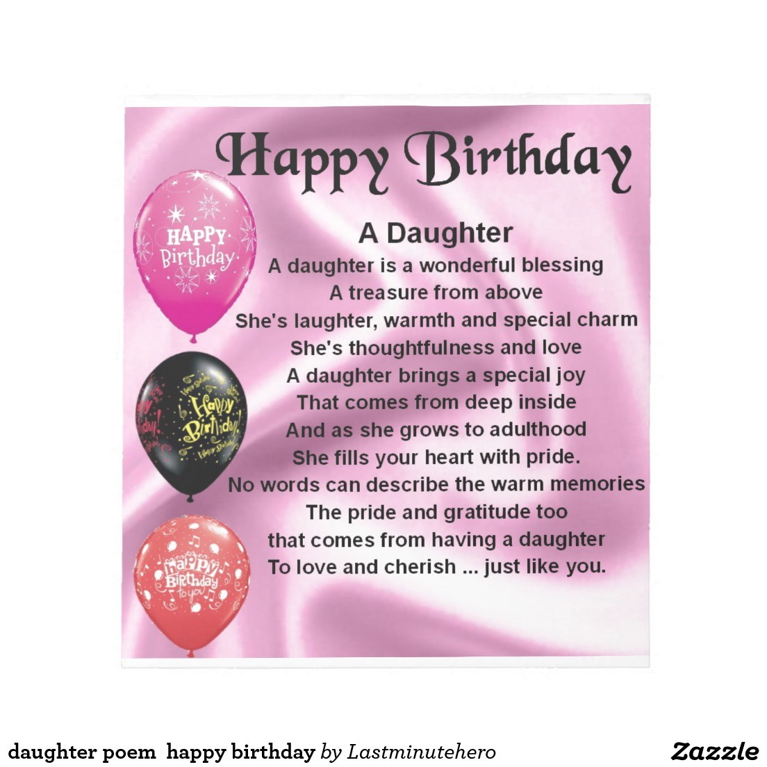 happy birthday step daughter quotes ; step-daughter-birthday-quotes-luxury-daughter-poem-happy-birthday-notepad-of-step-daughter-birthday-quotes